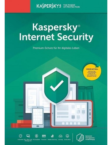 Kaspersky Internet Security 1PC -...