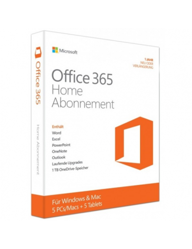 Microsoft Office 365 Home Abonnement...